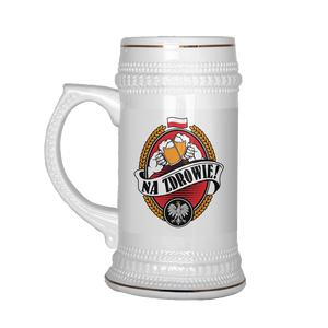 Na Zdrowie Beer Stein
