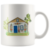 Polish Painted Village White 11oz Mug
