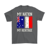Australian Polish - My Nation My Heritage Shirt - My Polish Heritage