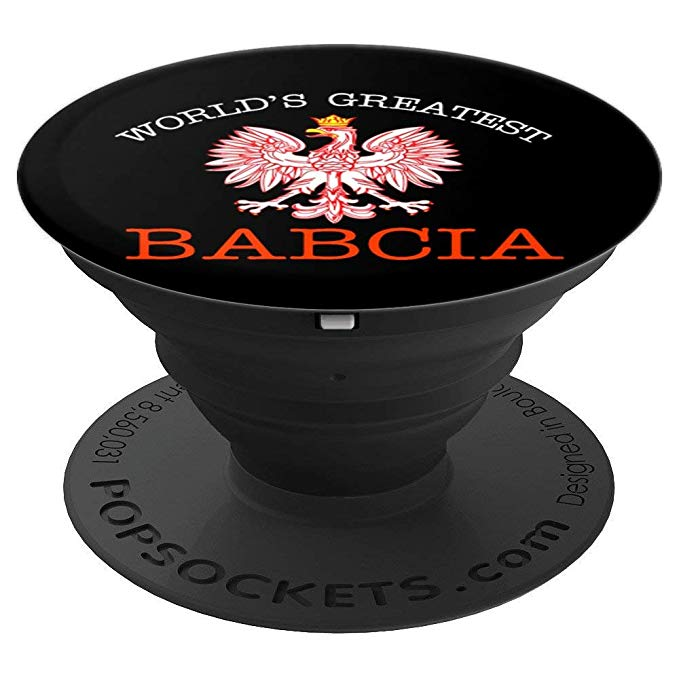 World's Greatest Babcia Phone PopSockets