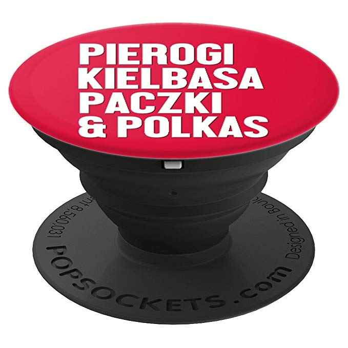 Polish Pride Poland Dyngus Day Pierogi Kielbasa Packli Polka Phone PopSockets