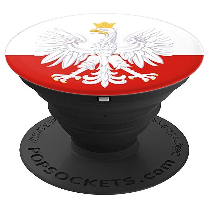 Polish White Eagle Polska Poland Flag Phone PopSockets