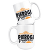 Pierogi Princess White 15oz Mug - My Polish Heritage