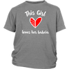 This Girl Loves Her Babcia Kids Shirt