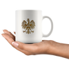 Gold Polish Eagle Coffee Mug