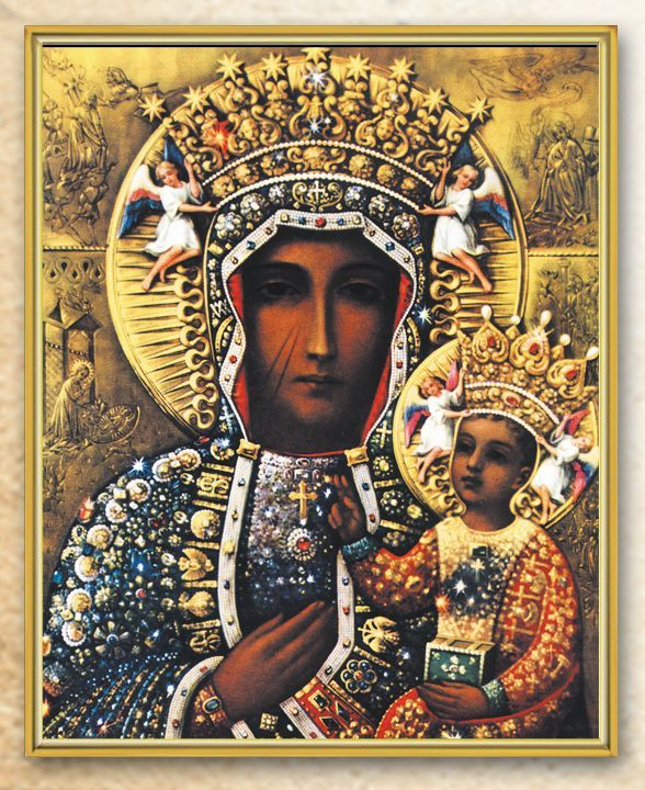 Our Lady of Częstochowa Wall Art Plaque