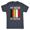 German Polish - My Nation My Heritage Shirt - My Polish Heritage
