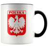 Polska Coat of Arms Eagle Coffee Accent Mug