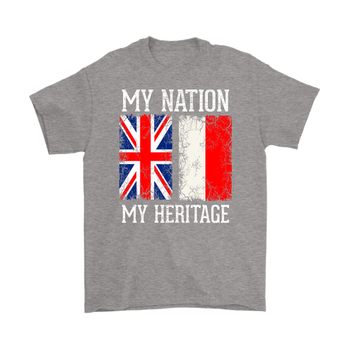 British Polish - My Nation My Heritage Shirt - My Polish Heritage