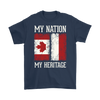 Canadian Polish - My Nation My Heritage Shirt - My Polish Heritage