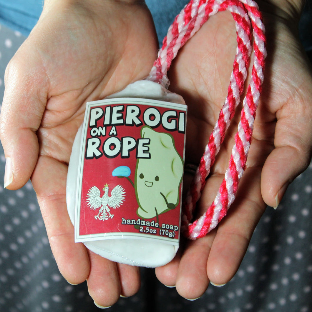 Pierogi Soap on a Rope-Babcia's Original