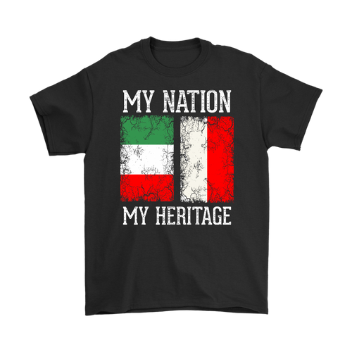Italian Polish - My Nation My Heritage Shirt - My Polish Heritage