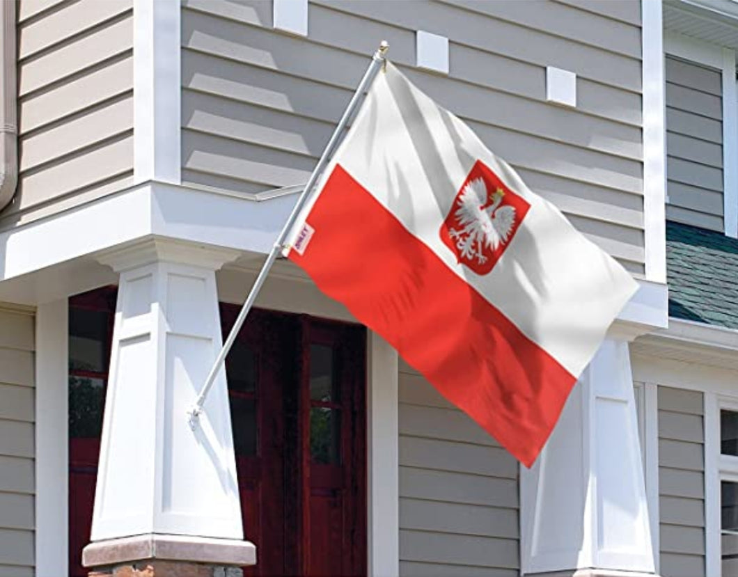 Poland Flag with and without Eagle *Ready to ship*