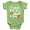 I Make Babcia's Heart Happy Onesie - My Polish Heritage