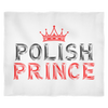 Polish Prince Fleece Blanket