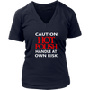 Caution Hot Polish Shirt - My Polish Heritage