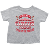 Not My Circus But I'm One Of The Monkeys Kids and Toddler Shirt - My Polish Heritage