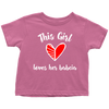 This Girl Loves Her Babcia Toddler Shirt