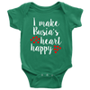 I Make Busia's Heart Happy Baby Onesie - My Polish Heritage