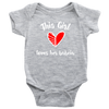 This Girl Loves Her Babcia Baby Onesie