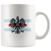 Chicago Flag with Eagle Coffee Mug