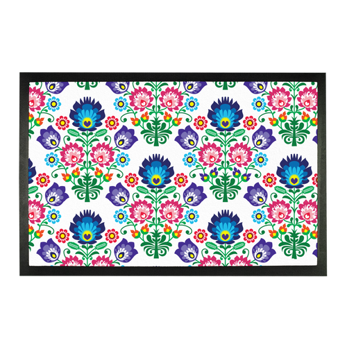Feminine Floral Sublimation Doormat