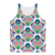 Feminine Floral Classic Sublimation Adult Tank Top