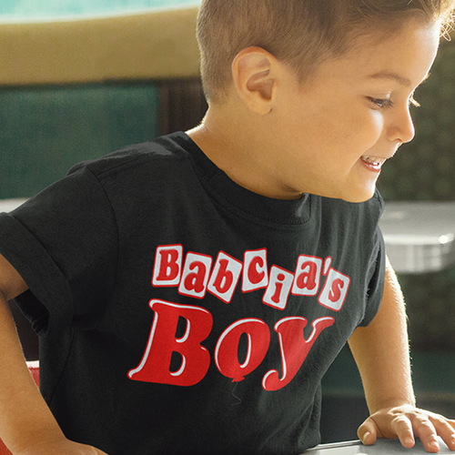 Babcia's Boy Toddler's Shirt - My Polish Heritage