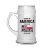 With Polish Parts Beer Stein