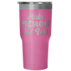 Make Pierogi Not War Tumbler - My Polish Heritage
