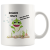 Dziadek and Babcia Shark Coffee Mugs