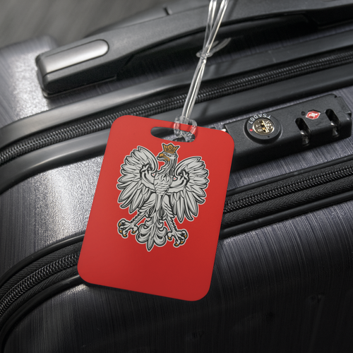 Polish Eagle Luggage Tag - My Polish Heritage
