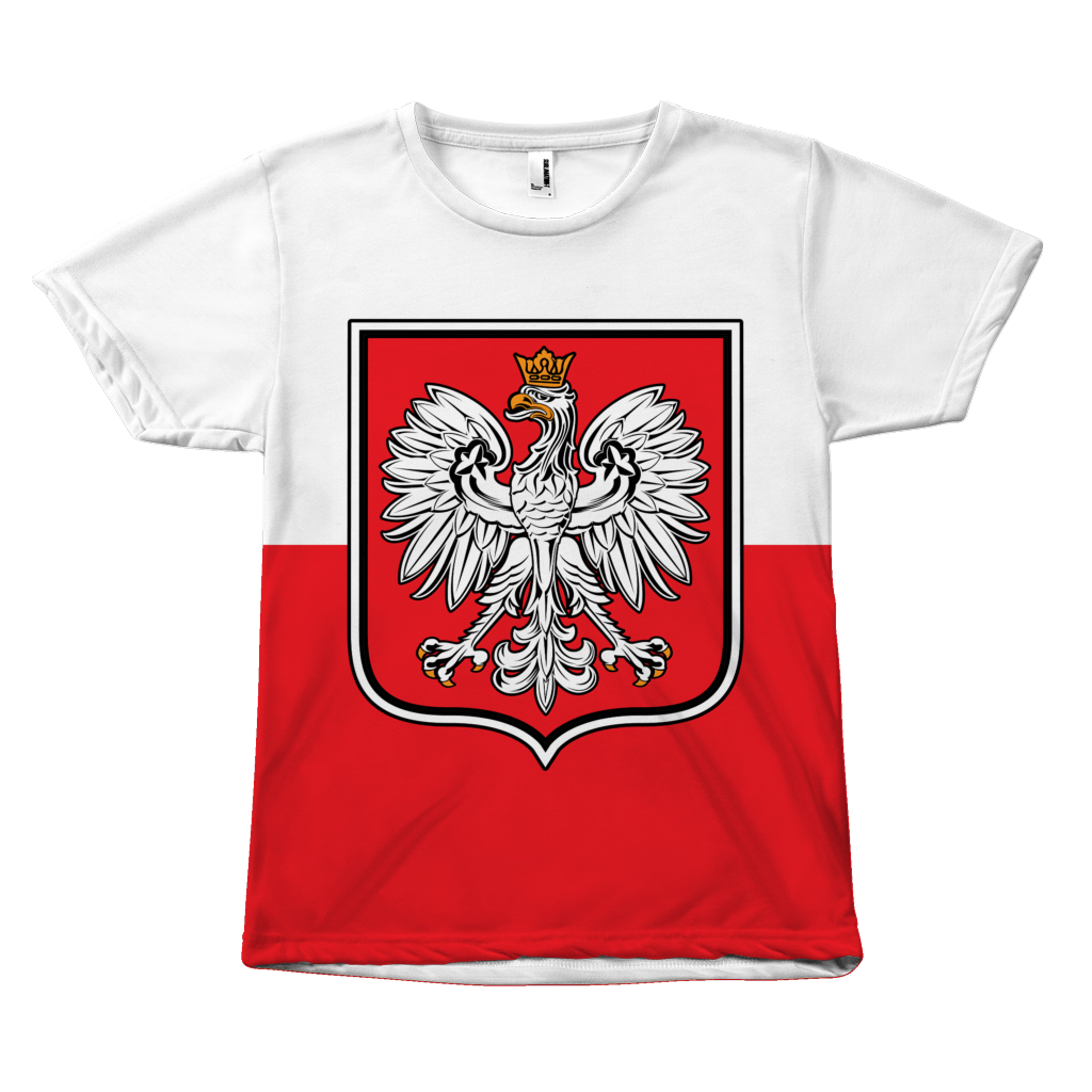 Polish Flag Eagle Tee