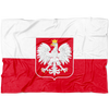 Polish Flag Fleece Blanket