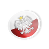 Polish Eagle Circle Decal Sticker