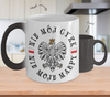 Polish - Not My Circus Color Changing Mug - My Polish Heritage