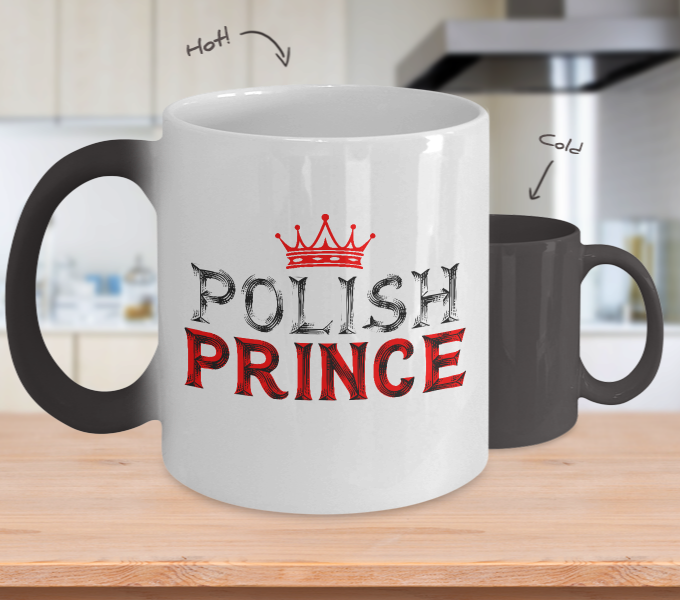 Polish Prince Color Changing Mug