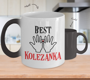 Polish Best Friend Color Changing Mug