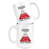 Polish Food Pyramid 15 oz white mug