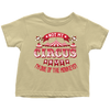 Not My Circus But I'm One Of The Monkeys Toddler Shirt - My Polish Heritage