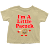 I'm a Little Pączek Toddler Shirt - My Polish Heritage