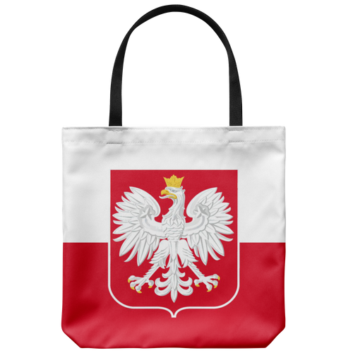 Polish Flag Tote Bag - My Polish Heritage