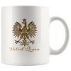 Polish Queen Gold Eagle Coffee Mug. 11oz and 15oz