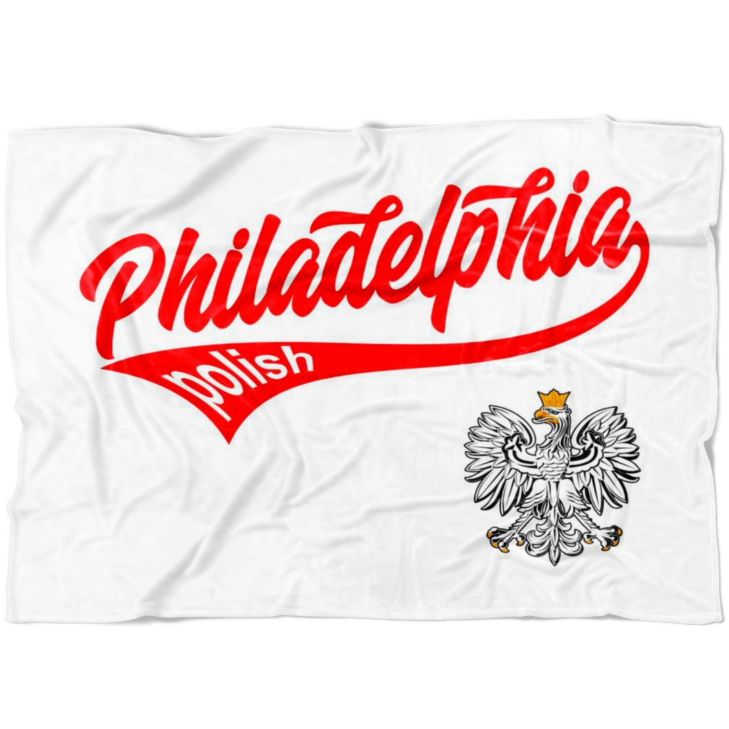 Philadelphia Polish Fleece Blanket