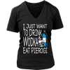 Drink Wódka And Eat Pierogi Shirt - My Polish Heritage