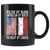 Polish By Blood Patriot By Choice Black 11oz Mug - My Polish Heritage