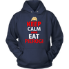 Keep Calm and Eat Pierogi Shirt - My Polish Heritage