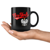 New York Polish Black 11oz Mug - My Polish Heritage
