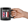 Polish By Blood British By Birth Patriot By Choice Black 11oz Mug - My Polish Heritage