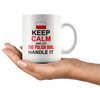 Keep Calm and Let the Polish Girl Handle It 11oz Mug | My Polish Heritage - My Polish Heritage